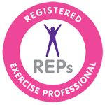 REPs accredited yoga teacher