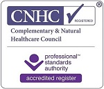 CNHC registered hypnotherapist