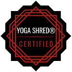 Yoga Shred certified